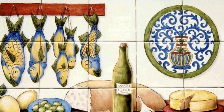 Portuguese Cozinha Azulejos