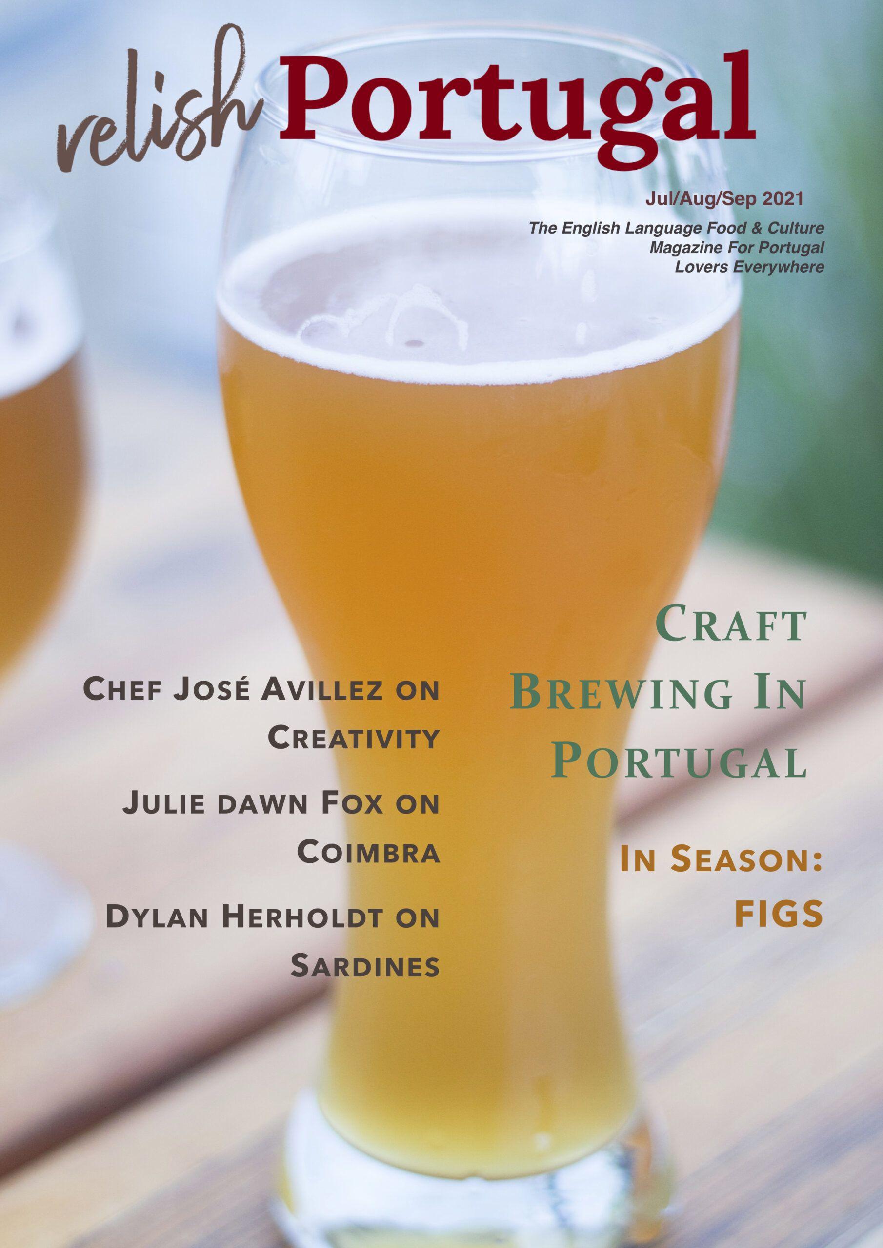 Relish Portugal Jul/Aug/Sep 2021 Cover